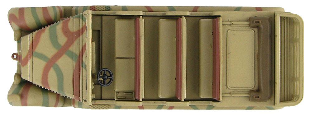 Sd. Kfz.7 German 8 Ton Half Track, WL605030, 2ª Guerra Mundial, 1:72, Hobby Master