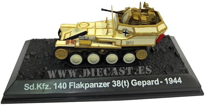 Sd.Kfz. 140 Flakpanzer 38(t) Gepard, 1944, 1:72, Blitz 72
