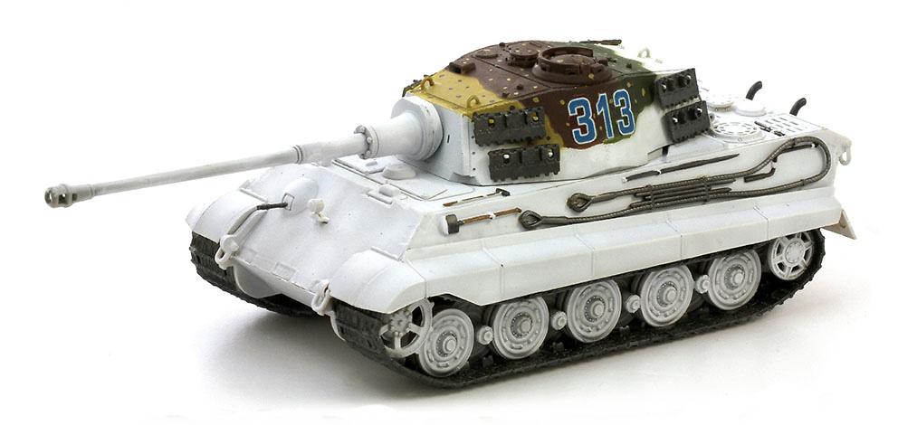 Sd.Kfz.182 Kingtiger, torreta Henschel, s.Pz.Abt.501, Frente del Este, 1944, 1:72, Dragon Armor