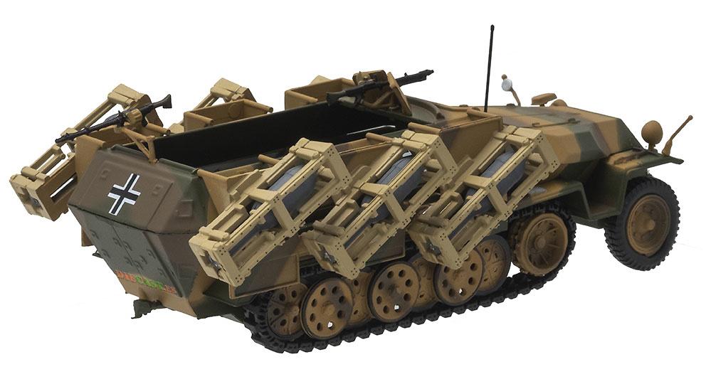 Sd.Kfz.251/1 Ausf.C Wurfrahmen, 1943, 1:43, Atlas
