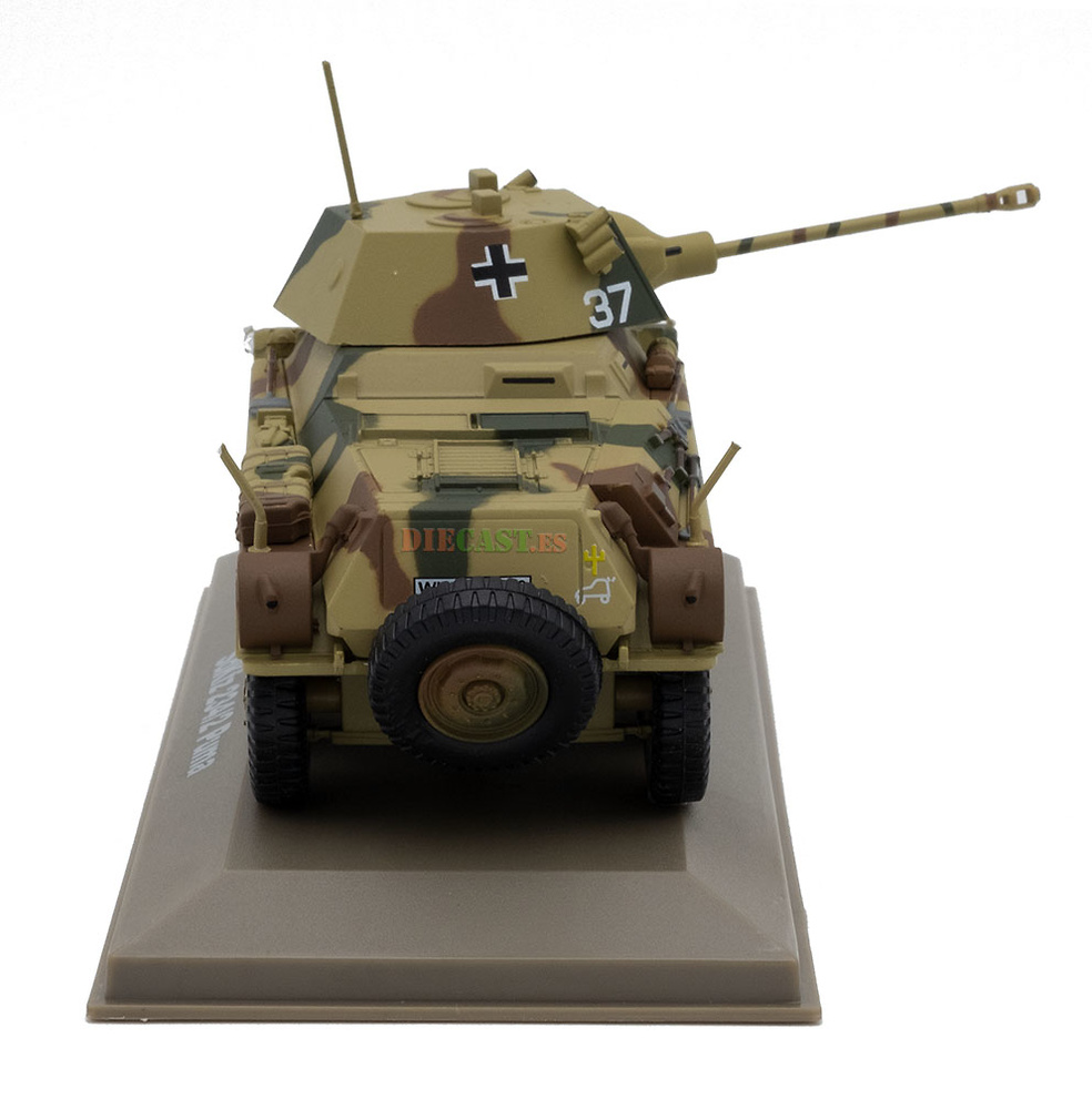 SdKfz 234/2 Puma, Alemania, Segunda Guerra Mundial, 1:43, Atlas