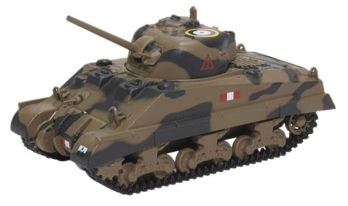 Sherman Tank, Mk III Royal Scots Greys, Italia, 1943, 1:76, Oxford