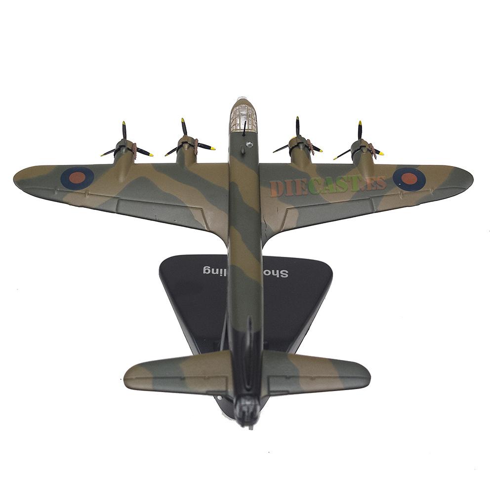 Short Stirling, 1941/46, 1:144, Editions Atlas