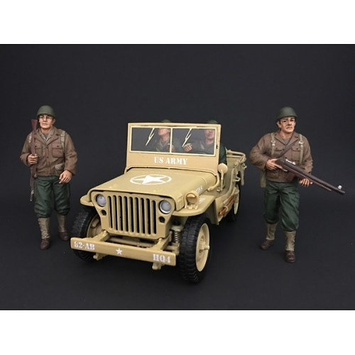 Soldado USA, 2ª G.M., 1:18, American Diorama
