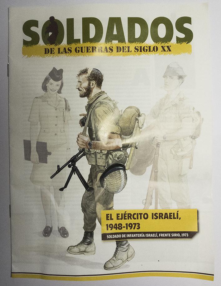 Soldado de Infantería del Ejército Israelí, Frente Sirio, 1973, Del Prado