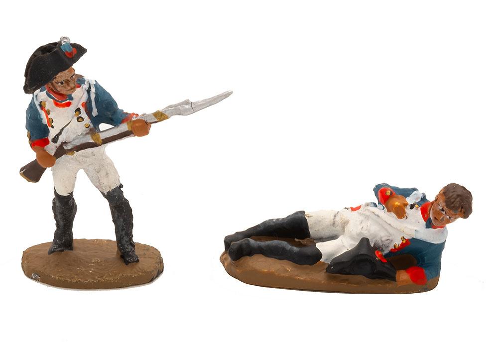Soldados de infantería, batalla de Austerlitz, 1:60, Del Prado