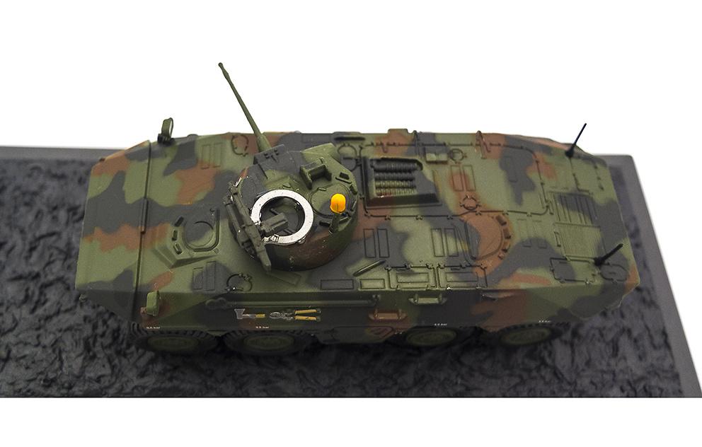 Spähpanzer Luchs Pz.AufrL.Btl. 7 Augustdorf, Alemania, 2000, 1:72, Altaya