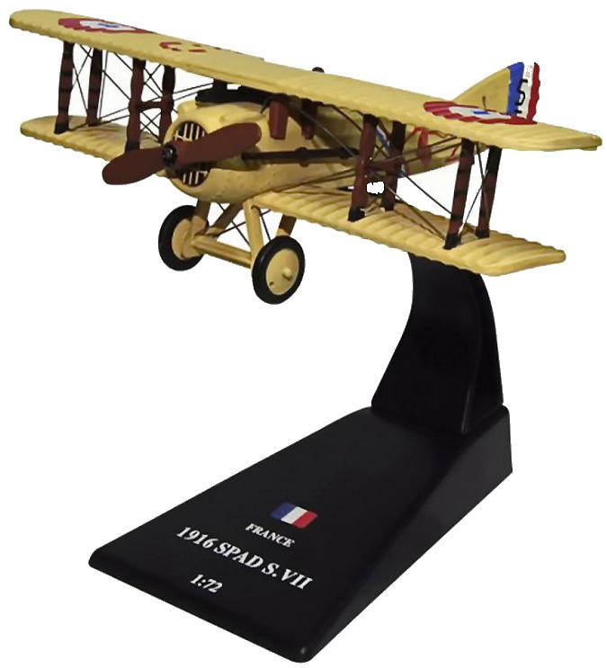 Spad S.VII, Francia, 1916, 1:72, Amercom