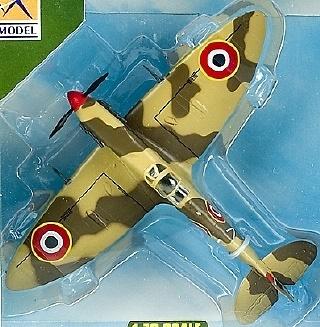 EM, AVION SPITFIRE MK V/TROP, RAF 328 Sqn, 1:72, Easy Model