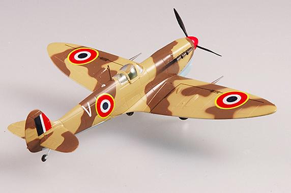 Spitfire MkVb TROP, RAF 328 Sqn, 1943, 1:72, Easy Model