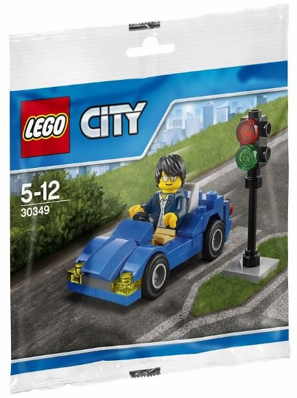 Sports car in the city, Lego City