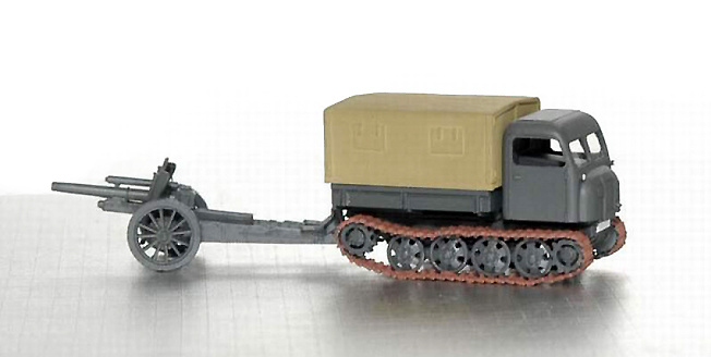 Steyr RSO/GUN 105FH 18/40, 1:72, Wespe Models
