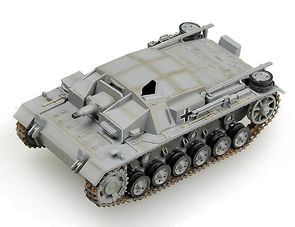 Stug III AUSF. C/D Tunicia, 1942, 1:72, Easy Model