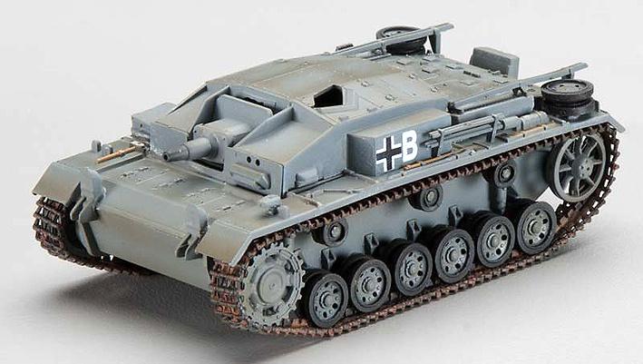 Stug III Ausf.E Sturmgeschutz-Abteilung 249, Russian Front, 1942, 1:72, Easy Model