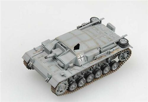 Sturmgeschutz III, Ausf C/D Rusia, Invierno, 1941-2, 1:72, Easy Model