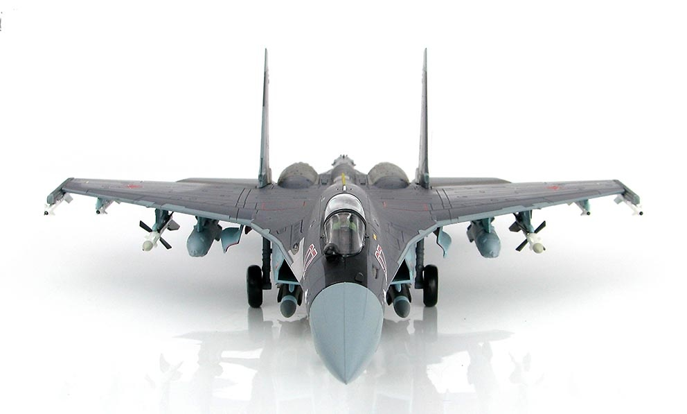 Su-35 Flanker E Red 07, Fuerza Aérea de Rusia, 2013, 1:72, Hobby Master