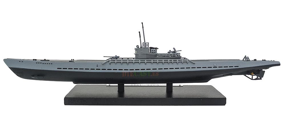 Submarine U515, Germany, World War II, 1: 350, Editions Atlas
