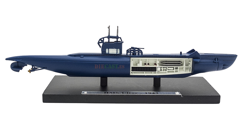 Submarino HMS Ultor, Gran Bretaña, Segunda Guerra Mundial, 1:350, Editions Atlas
