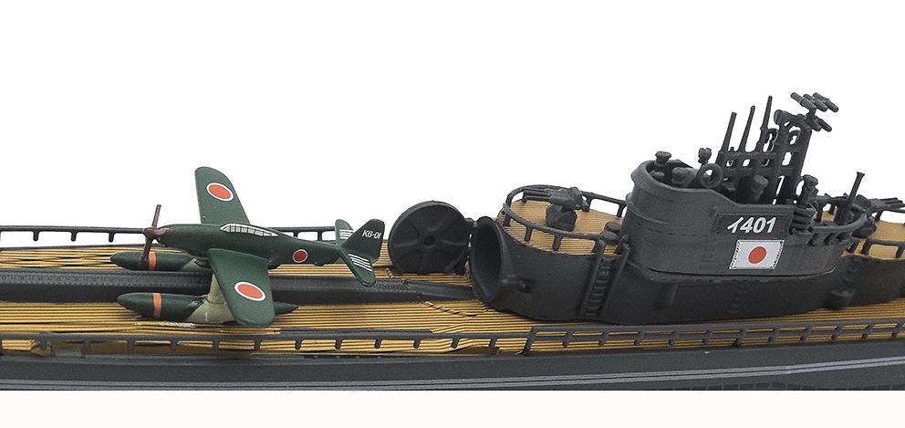 Submarino I-401, Japón, Segunda Guerra Mundial, 1:350, Editions Atlas