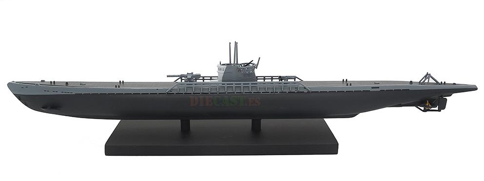Submarino U181, Alemania, Segunda Guerra Mundial, 1:350, Editions Atlas