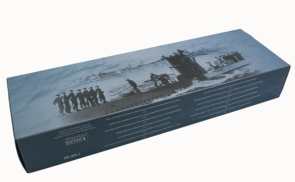 Submarino U47, Alemania, Segunda Guerra Mundial, 1:350, Editions Atlas