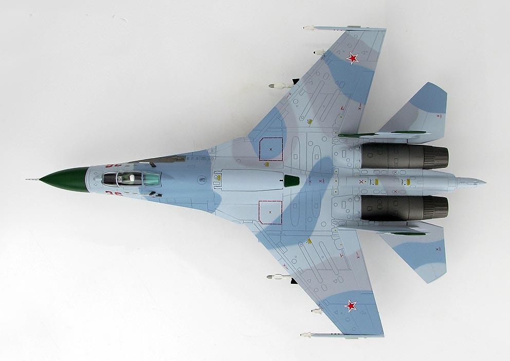 Sukhoi Su-27 Flanker B (Primera Versión) Red 36, Ejército del Aire Ruso, Mar de Barents, 1987, 1:72, Hobby Master