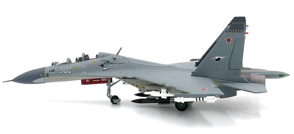 Sukhoi Su-30MK Flanker-C, White 502, Fuerza Aérea Rusa, 2006, 1:72, JC Wings