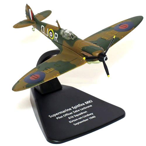 Supermarine Spitfire MKI, 616 Sqn., Septiembre, 1940, 1:72, Oxford