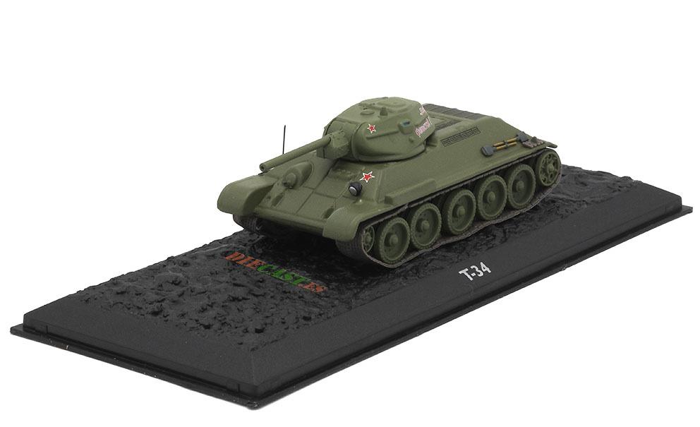 T-34, Unión Soviética, 1940/58, 1:72, Atlas Editions