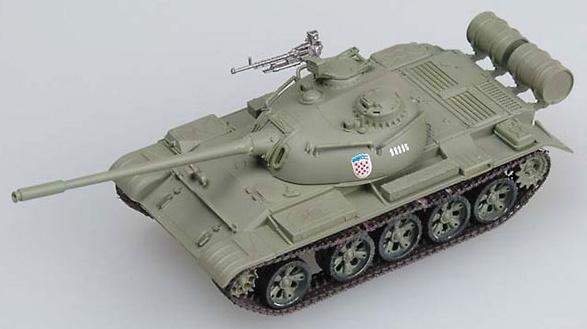 T-54, Kosovo 1998, 1:72, Easy Model