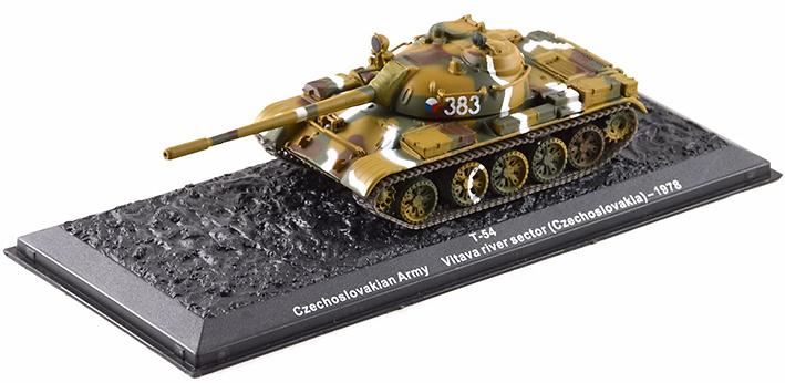 T-54, Vitava River Sector, Ejército Checoeslovaco, 1978, 1:72, Altaya