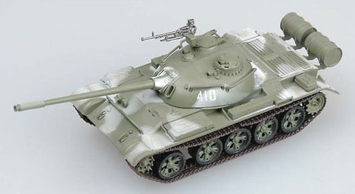 T-54 USSR Army In Winter Camo, 1:72, Easy Models