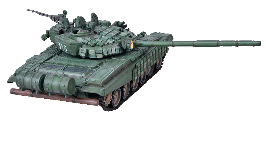 T-72B con Blindaje Reactivo Activo (ERA), 2010, 1:72, Modelcollect