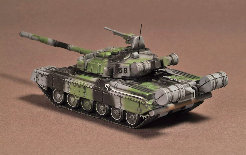 T-80 BV 4th Guards Division, ChechenIa, 1995, 1:72, War Master