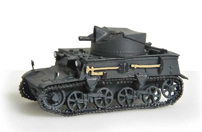 T13, Ejército Belga, 1936, 1:72, Wespe Models