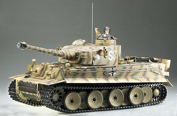 TIGER I, 1ª VERSION, Batalla de Kursk, 1:16, Tamiya