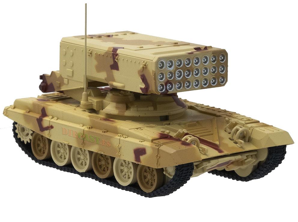 TOS-1A, Sistema lanzallamas pesado, Rusia, 1:72, Panzerkampf