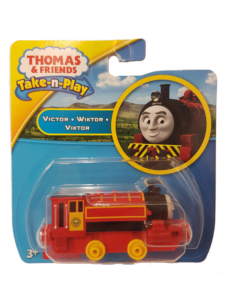 Thomas & Friends, Take-n-Play, Victor, Fisher Price