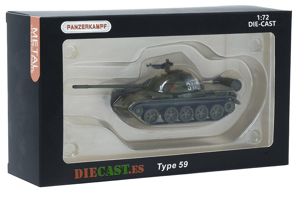 Tipo 59, Tanque Medio, Ejército Popular de Liberación, China, 1959-actualidad, 1:72, Panzerkampf