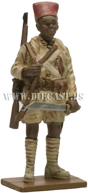 Senegalese Skirmisher, Free French to the Army of Liberation, Gabon, 1940, 1:30, Del Prado