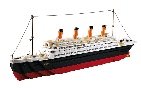 Titanic (grande), Sluban