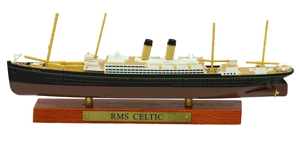 Transatlántico RMS Celtic, Gran Bretaña, 1906, 1:1250, Atlas