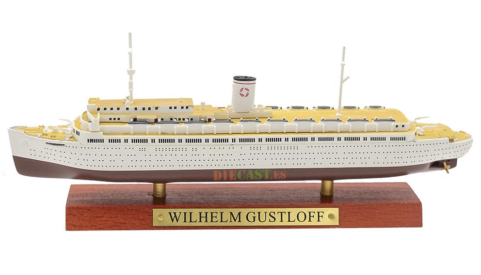Transatlántico Wilhelm Gustloff, Alemania, 1938, 1:1250, Atlas
