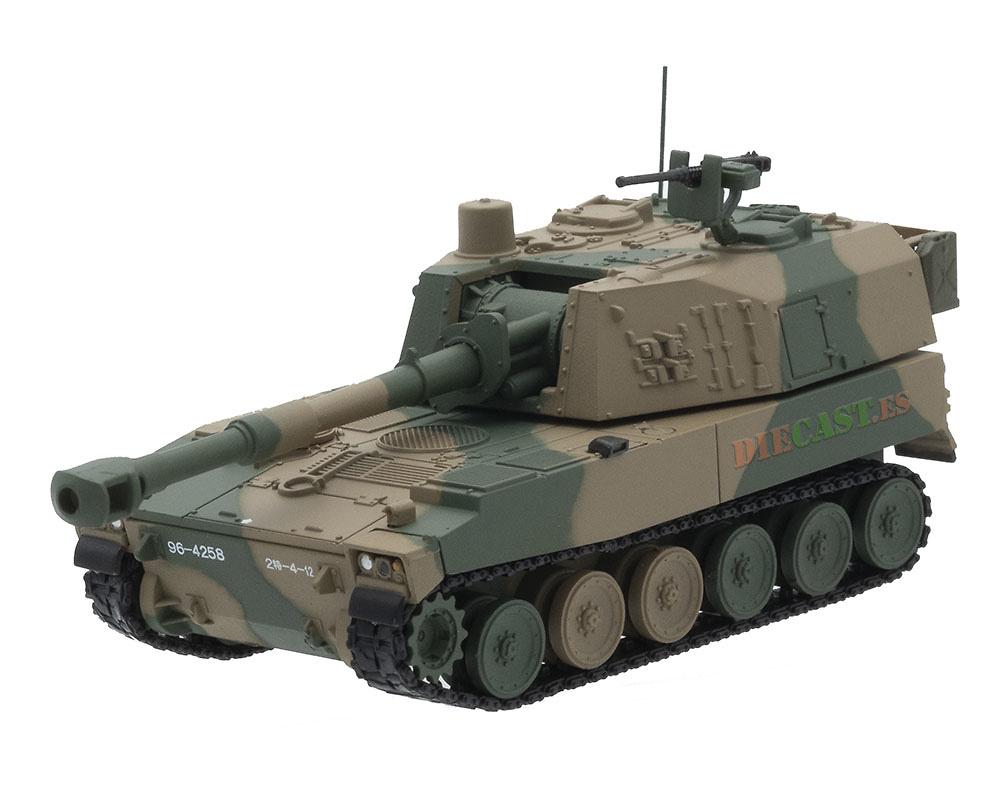 Type 75, Obús Autopropulsado 155 mm., JGSDF, Japón, 1:72, DeAgostini