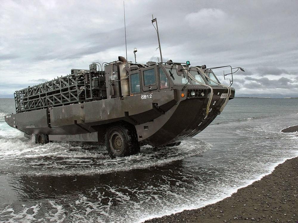 Type 94, vehículo para colocación de minas en playas, JSDF, Japón, 1:72, Planeta DeAgostini
