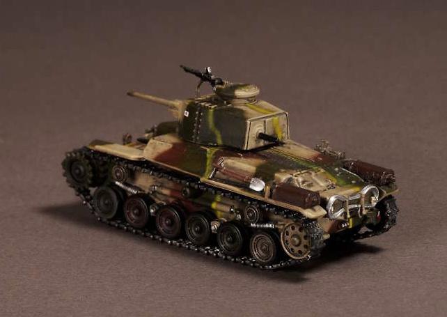 Type 97, Shinhoto Chi-Ha, Nueva Guinea, 1943, 1:72, War Master