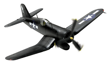 U.S. F4U-1D CORSAIR VMF-122, 1:72, Forces of Valor