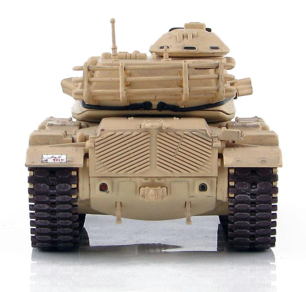 US M60A3, Ejército Egipcio, El Cairo, 2011, 1:72, Hobby Master