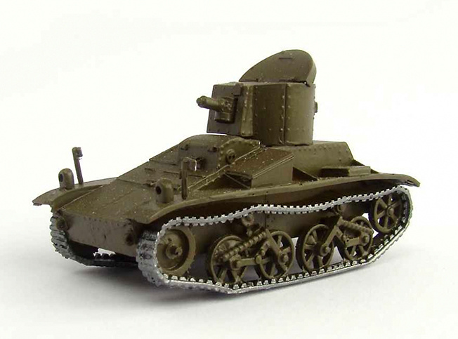 V-C-L Commercial Light Tank Model, 1934, 1:72, Wespe Models