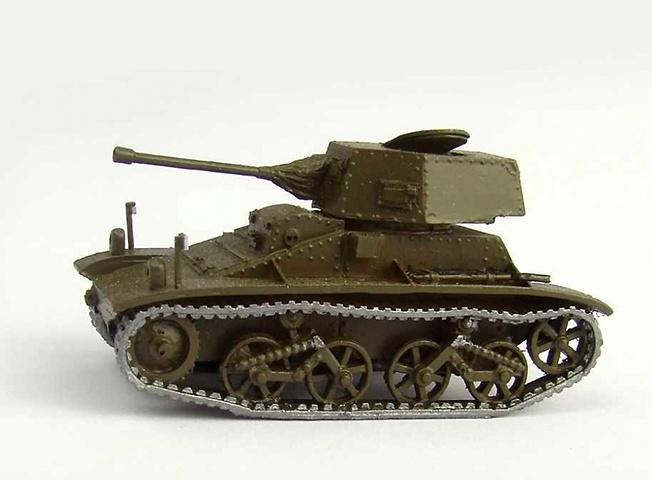 V-C-L Commercial Light Tank Model, 1937, 1:72, Wespe Models